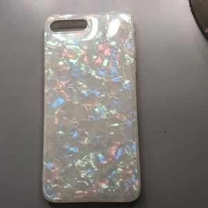 iPhone 8+ holographic case!